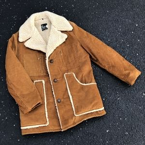VTG 70s BB Repeller Sherpa-Lined Corduroy Jacket